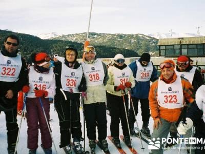 Esquí Baqueira - Competición; viajes en fin de año; viajes fin de año
